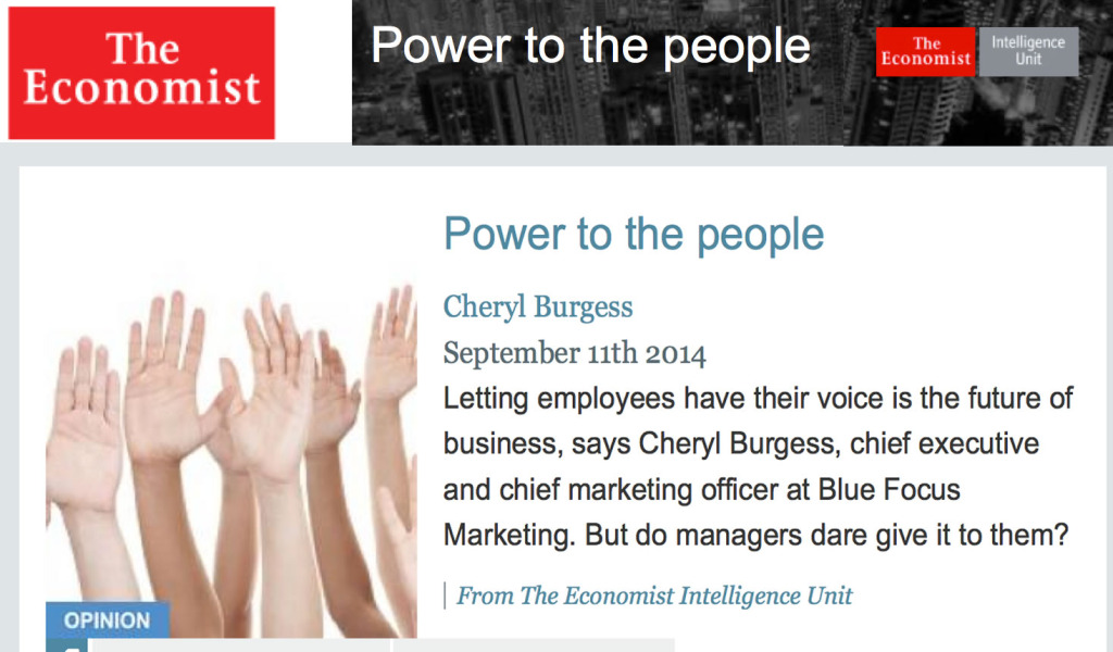 Economist Power to the People The Social Employee