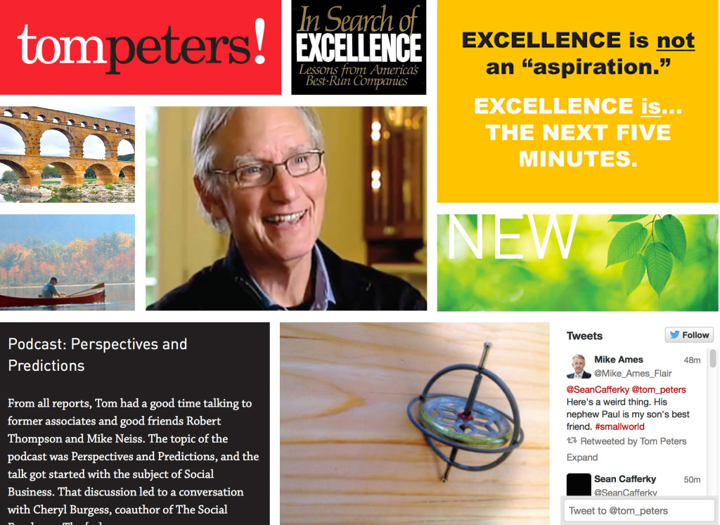 Tom Peters Main Home Page Blog 2014122