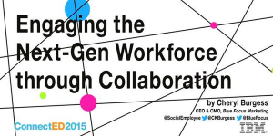 Engaging Next Generation Workforce