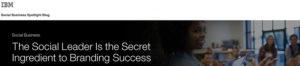 IBM Wharton email blast banner