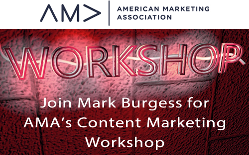 Join @MNBurgess for AMA's Content Marketing Workshop – Blueprint for success