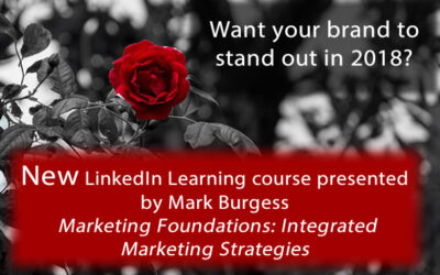 Want your brand to stand out in 2018? New IMC Online Course @mnburgess