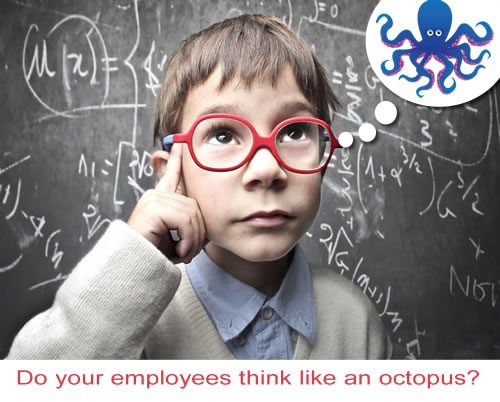 3 Ways to Embrace Octopus Power Through Employee Advocacy #EmployeeEngagement #Marketing #OctoLeader