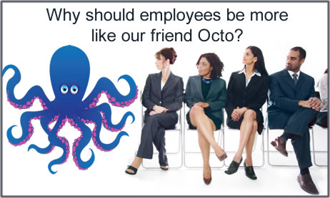 3 Fun Octopus Facts—and How They Apply to Employee Advocacy #marketing #business