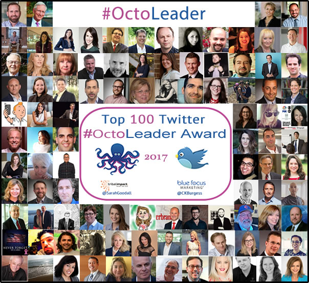 Best Top Leaders in 2017: #OctoLeader Twitter Award