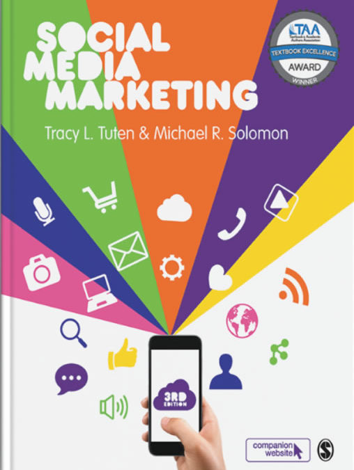 Announcing the Award-Winning Social Media Marketing 3rd edition @SAGEManagement by Tracy Tuten @brandacity